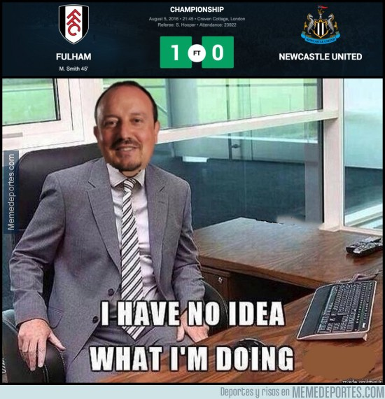 895292 - Y nuestro Rafa Benitez, empieza la Championship con derrota