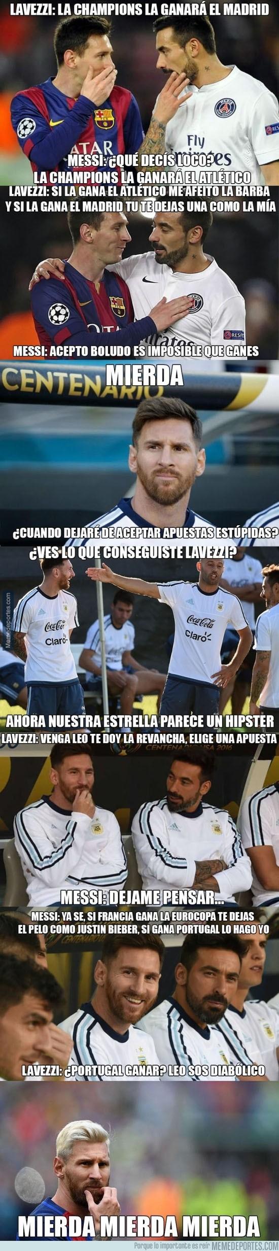 895597 - La verdad sobre el nuevo look de Messi
