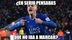 Enlace a Vardy empieza la temporada on fire