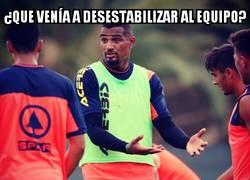 Enlace a Boateng empieza con buen pie en Las Palmas
