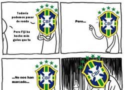 Enlace a Qué vergüenza ajena nos provoca Brasil