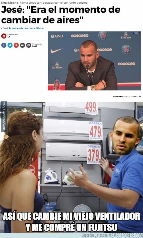 895880 - Las veraniegas declaraciones de Jesé en su llegada al PSG