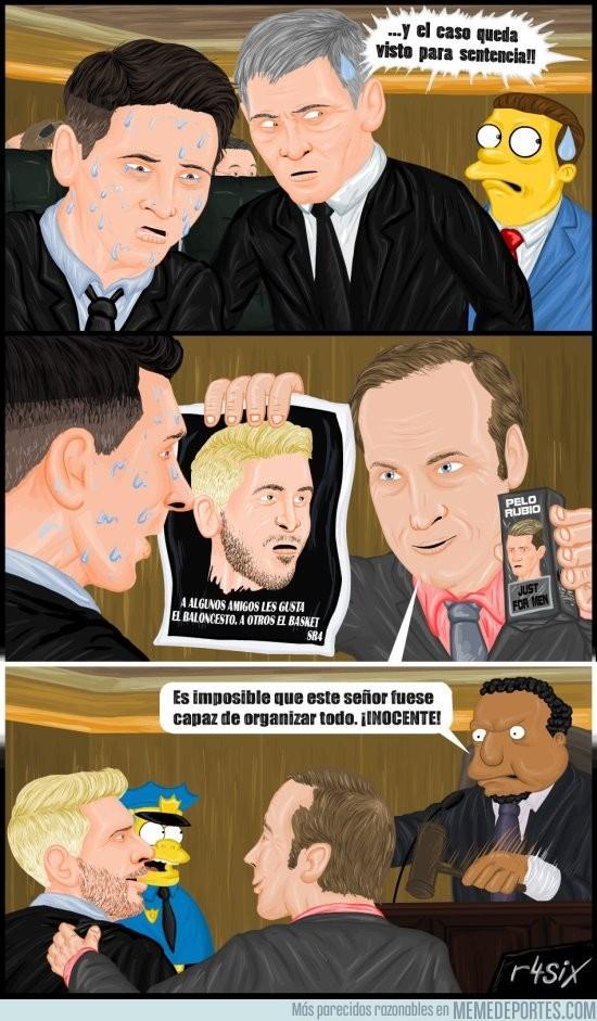 896164 - Y así es como Messi se libró de la cárcel (dibujo de @r4six)