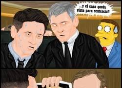 Enlace a Y así es como Messi se libró de la cárcel (dibujo de @r4six)