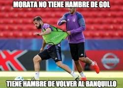 Enlace a Morata se lo va a ganar a pulso