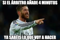 Enlace a Ramos siempre se la saca en esos momentos