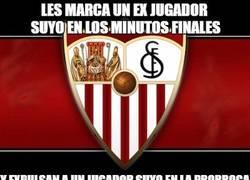 Enlace a La mala suerte del Sevilla