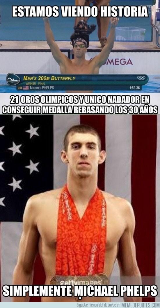 896541 - Phelps no es humano