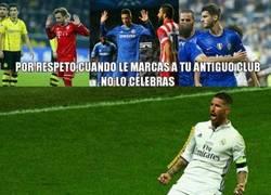 Enlace a Sergio Ramos va a lo suyo