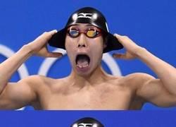Enlace a Este nadador olímpico pide chops
