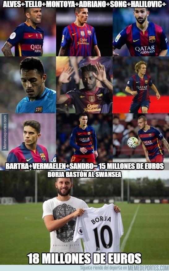 897109 - El Atleti le tiene que enseñar al Barça a sacar dinero de sus descartes