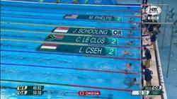 Enlace a ¡Histórico! Triple plata en 100m mariposa masculino