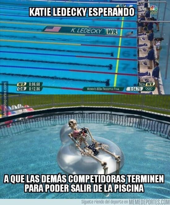 897334 - Destruyó el récord mundial y olímpico en 800m libres y ya van 4 medallas doradas