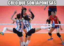 Enlace a Creo que son japonesas