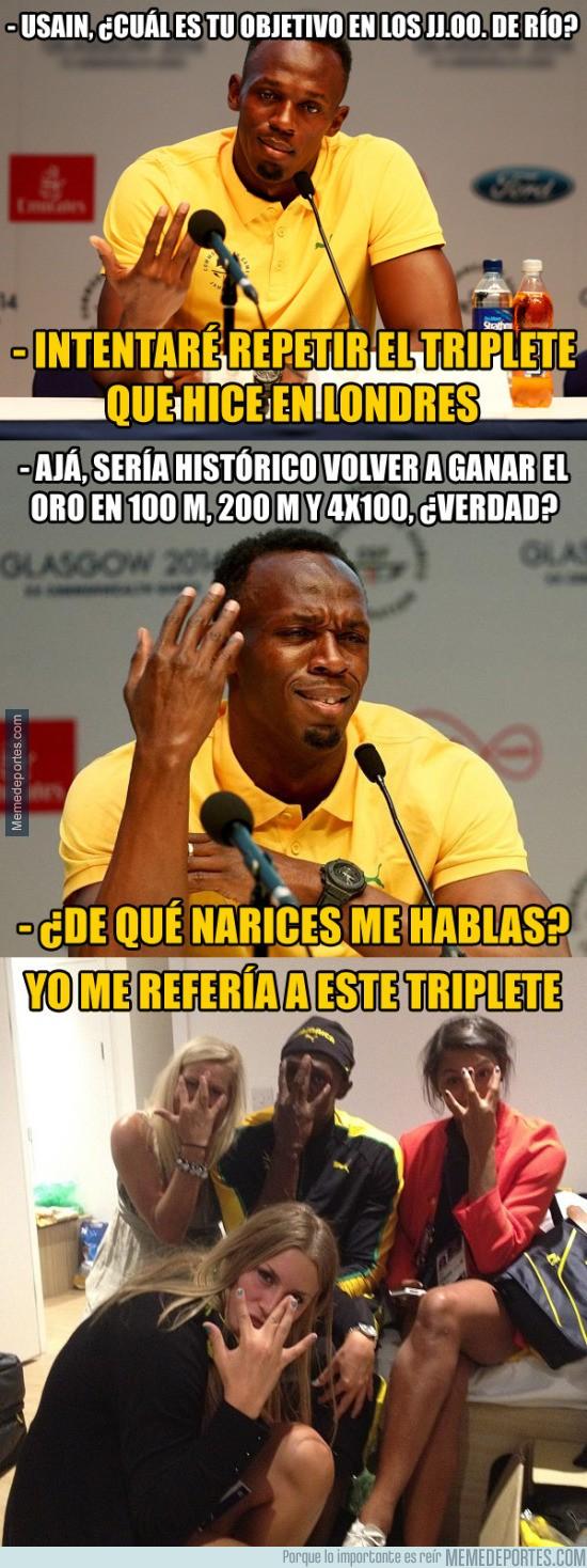 897836 - Usain Bolt tiene claros sus objetivos para los Juegos Olímpicos