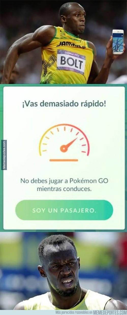 898041 - La frustración de Usain Bolt jugando a Pokémon GO