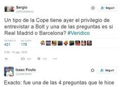 Enlace a Estás hablando con una leyenda del atletismo. ¿Qué narices te importa si Madrid o Barça?