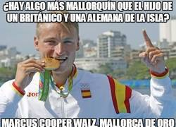 Enlace a Marcus Walz, medalla de oro en 1000m k1