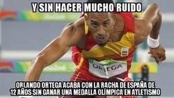 Enlace a Sin palabras con los 110m vallas de Orlando Ortega, ¡ENORME!
