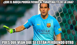 Enlace a Bravo salvando al Barça
