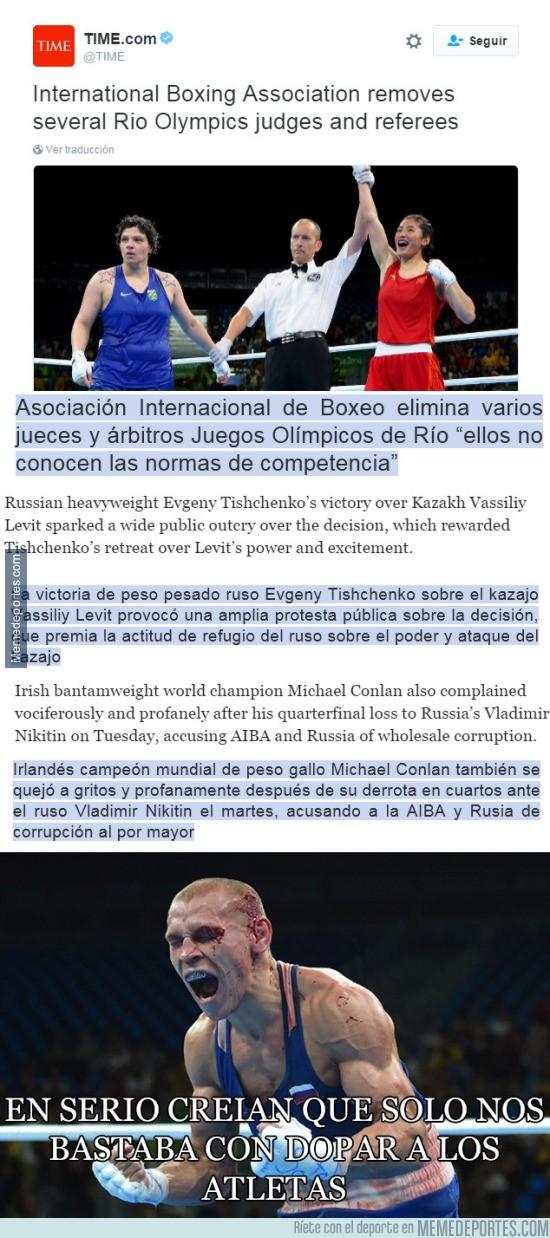 898977 - Los rusos van a por todo en los Juegos Olímpicos