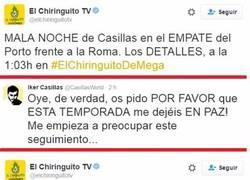 Enlace a Casillas dice BASTA y pide que lo dejen en paz pero lo siguen troleando sin parar