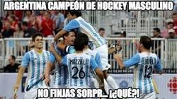 Enlace a Argentina campeón de hockey masculino