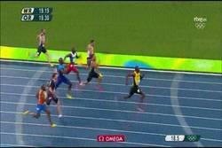 Enlace a ¡Octavo oro para Usain Bolt! De Grasse segundo en la final de 200 metros
