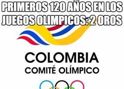 Enlace a Primeros 120 años en los juegos olimpicos: 2 oros