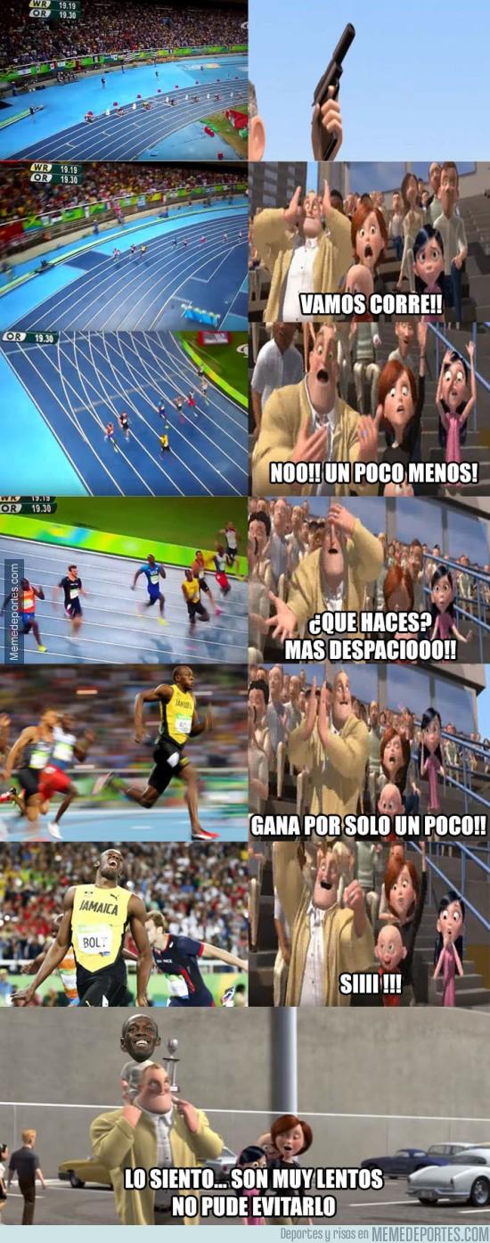 899497 - Usain Bolt sobrado en la final de los 200m