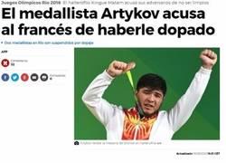 Enlace a Artykov y su excusa ante el dopaje