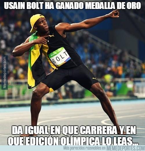 899649 - Usain Bolt ha ganado medalla de oro