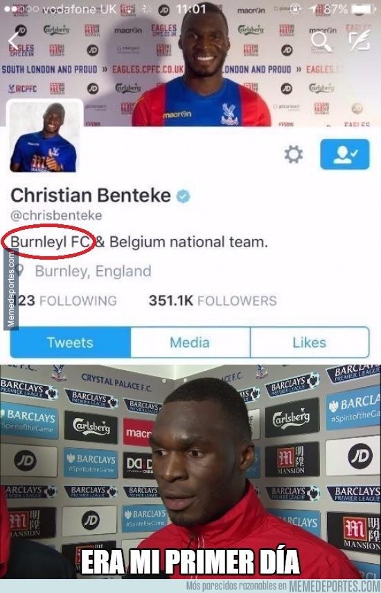 899692 - Benteke ficha por el Crystal Palace y pone Burnley en su Twitter