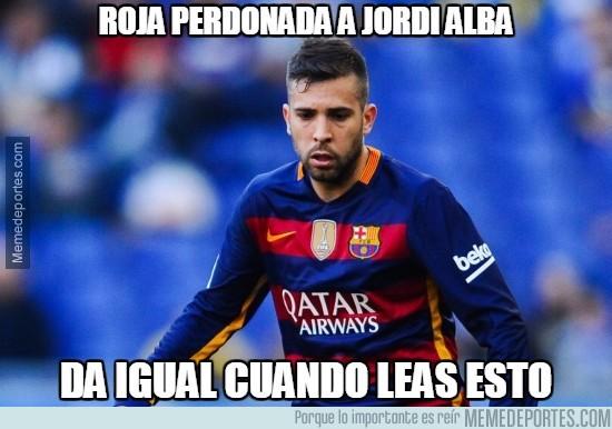 899899 - La suerte está del lado de Jordi Alba