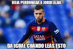 Enlace a La suerte está del lado de Jordi Alba