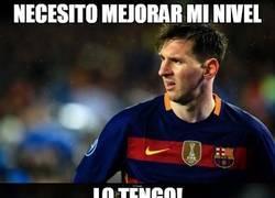 Enlace a La explicación del buen nivel de Messi