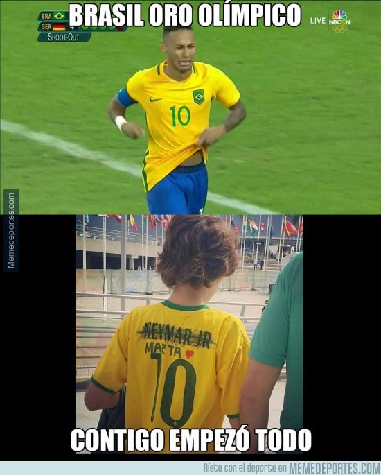 900154 - Brasil ya tiene su medalla de oro