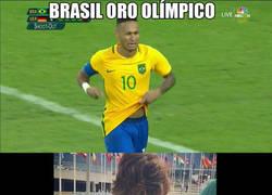 Enlace a Brasil ya tiene su medalla de oro