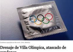 Enlace a Menuda fiesta se pegaron los deportistas en Brasil
