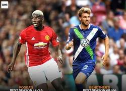 Enlace a Las comparaciones son odiosas entre Bendtner y Pogba