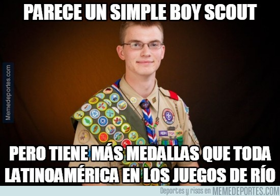900939 - Parece un simple boy scout...