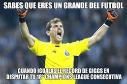 Enlace a Casillas y un nuevo récord histórico