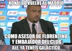 Enlace a Floren ya tiene a su galáctico para el Real Madrid