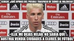 Enlace a Ramos hablando del posible fichaje del Valencia