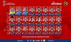 Enlace a Convocatoria de la selección española. ¡Con Reina y sin Casillas!
