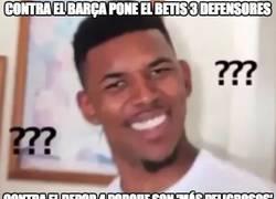 Enlace a La lógica del Betis