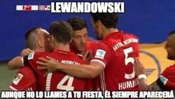 Enlace a Lewandowski siempre igual
