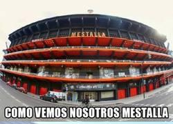 Enlace a Dos formas diferentes de ver Mestalla