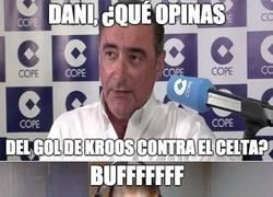Enlace a Dani Benítez está impresionado por el gol de Kroos