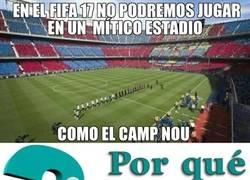 Enlace a ¡Vaya estadio no podremos disfrutar en el FIFA 17!